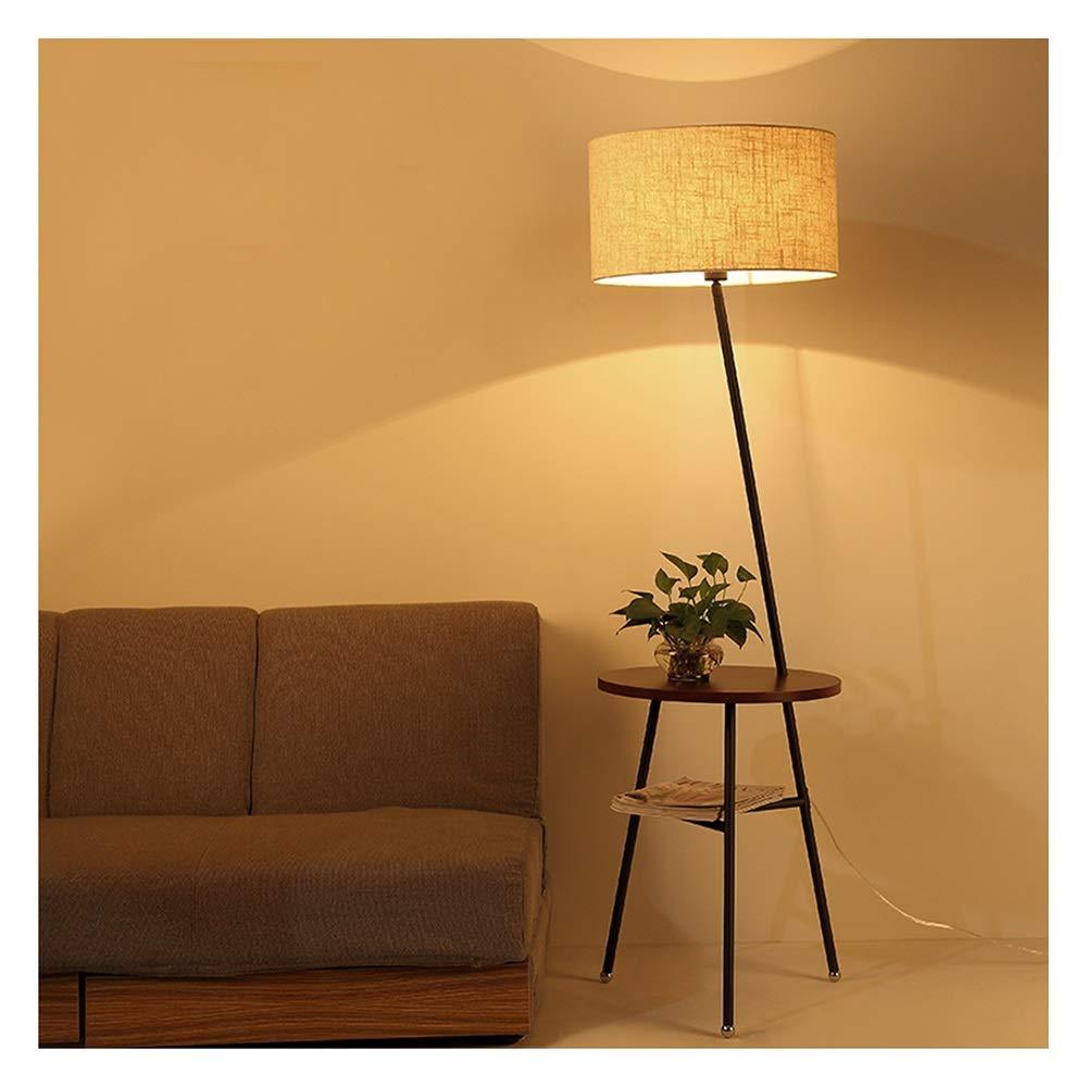 NZNB -35 フロアランプリビングルームクリエイティブシンプルなフロアランプ現代のソファコーヒーテーブルランプ寝室のベッドサイドフロアランプ -35 フロアスタンド (色 : (色 Deep wood Deep color) B07Q44QSJX Deep wood color, 弱電館:91ca094f --- m2cweb.com