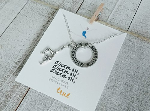 - Gymnast Jewelry - Girls - Dream on - Silver ()