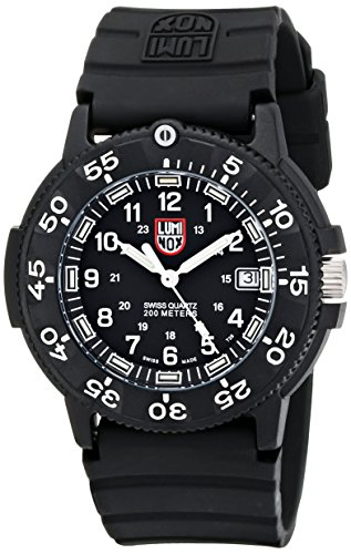 Luminox Men's 3001 Quartz Navy Seal Dive Watch ()
