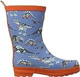 Hatley Boys' Little Robotic Dinos Rain Boots, 9