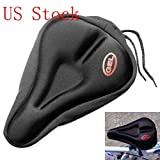 Secret Doll New Bike Bicycle Cycle Extra Comfort Gel Pad Cushion Cover for Saddle Seat Comfy by Secret Home Series