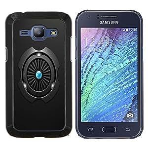 For Samsung Galaxy J1 J100 Case , Turbina- Diseño Patrón Teléfono Caso Cubierta Case Bumper Duro Protección Case Cover Funda