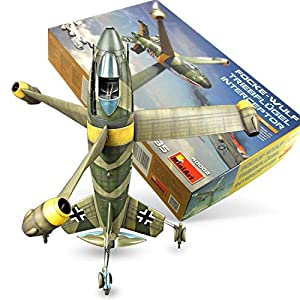 WW2-Model-Airplanes-Kits-to-Build-for-Adults-135-Scale-WWII-Model-Airplane-Kit-Focke-Wulf-Triebflugel-Interceptor-Plastic-Model-Kits