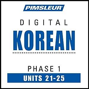 Korean Phase 1, Unit 21-25 Hörbuch
