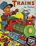 Trains to Color: A Vintage Coloring Book from Artimorean Studios