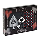 : Copag Bridge Size EPOC Special Index Playing Cards (Red Black Setup)
