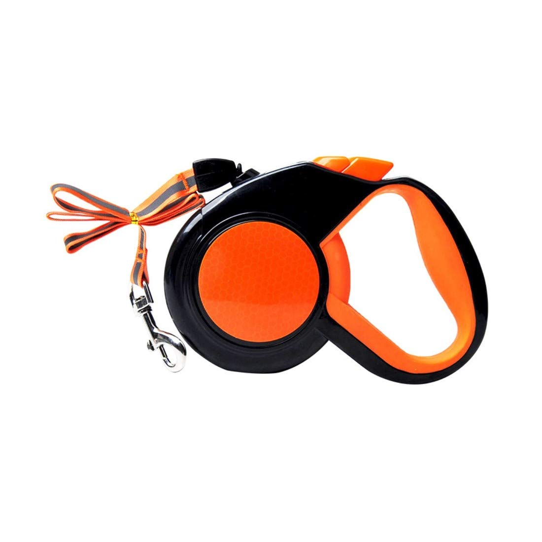 orange Medium orange Medium Nethaniah Non-Slip Grip Retractable Dog Leash, Adjustable Cord for Walking, 1PCS
