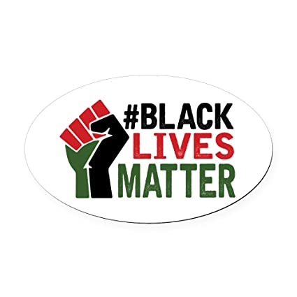 Cafepress black lives matter oval car magnet euro oval magnetic bumper sticker