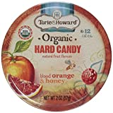 Torie and Howard Organic Bloody Orange and Honey Candy, 2 Ounce -- 8 per case.