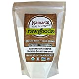 Namaste Foods Organic Arrowroot Starch, 18 Ounce (Pack of 6)
