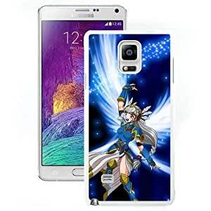 Popular And Unique Designed Cover Case For Samsung Galaxy Note 4 N910A N910T N910P N910V N910R4 With Anime Creature Wings Flying Glow Stroke white Phone Case