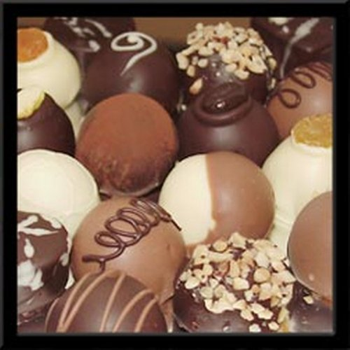 Assorted Chocolate Mini Truffles 1/2 Oz Ea 6 Lb Cs - 192 Pieces by VARDA