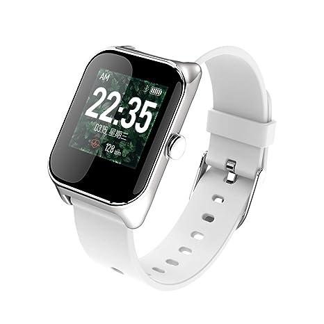 YWY Relojes Inteligentes Impermeable Pulsera Inteligente Frecuencia cardíaca en Tiempo Real Presión Arterial Óxido de Sangre