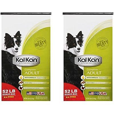 Kal Kan Complete Adult Dog Food 52 lb. Bag