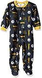 Gerber Childrenswear NFL Pittsburgh Steelers Boys 2018Blanket Sleeper, Black, 2T