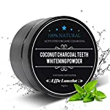 Activated Charcoal Teeth Whitening Powder- 100% Natural Organic Tooth Whitener Powder for Stains, Tartar, Yellow Teeth and Bad Breath- Safe for Enamel, Sensitive Teeth-(60g,0.2OZ)