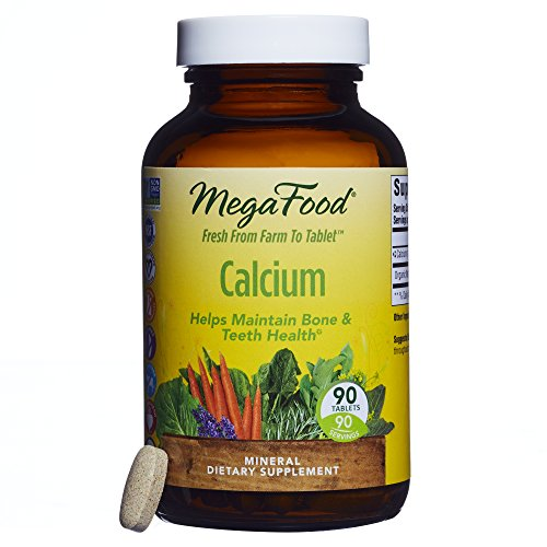 MegaFood - Calcium, Supports Healthy Bones & Teeth, 90 Tablets (FFP)