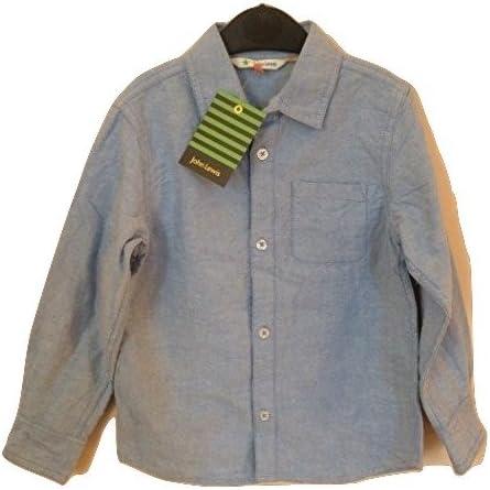 John Lewis camisa de manga larga para palo de golf para niños Oxford azul 5 años: Amazon.es: Ropa y accesorios