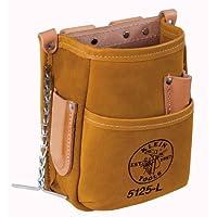 Bolsa de herramientas de bolsillo con correa de cinta, herramientas de cuero Klein 5125L