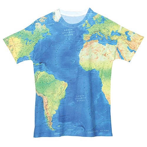 Mens sublimated world map t shirt large buy online in uae mens sublimated world map t shirt large buy online in uae apparel products in the uae see prices reviews and free delivery in dubai abu dhabi gumiabroncs Choice Image