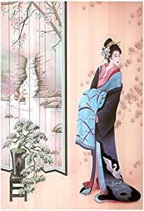 Japanese Girl Asian Japan Sexy Geisha Art Print POSTER 13 x 19in