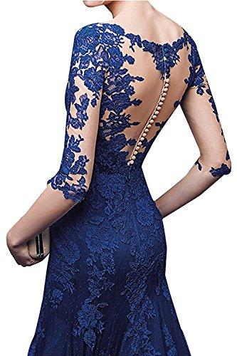 V Orange Kleider Jugendweihe mia Partykleider Abendkleider Damen Fuchsia Ausschnitt Braut La Meerjungfrau xIZqgC