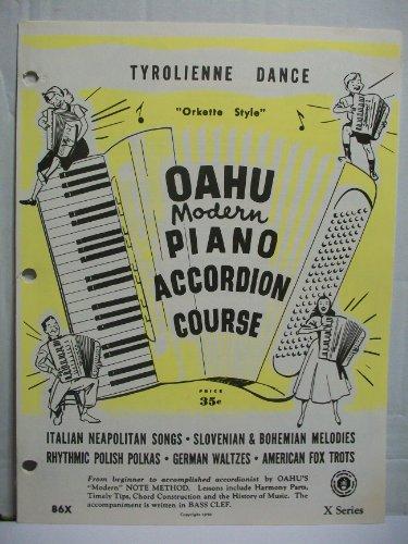 "Tyrolienne Dance - ""Orkette Style"" (Oahu Modern Piano Accordion Course, 86X)"