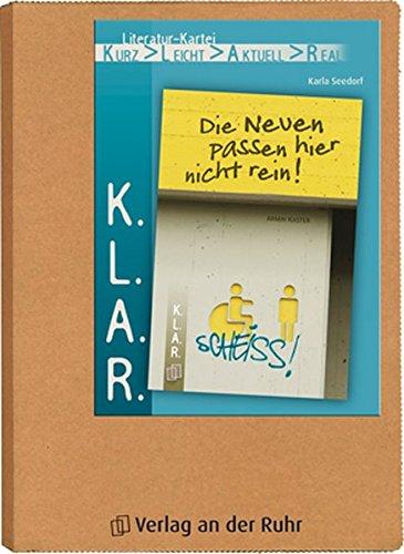 K.L.A.R.-Literatur-Kartei: Die Neuen passen hier nicht rein!