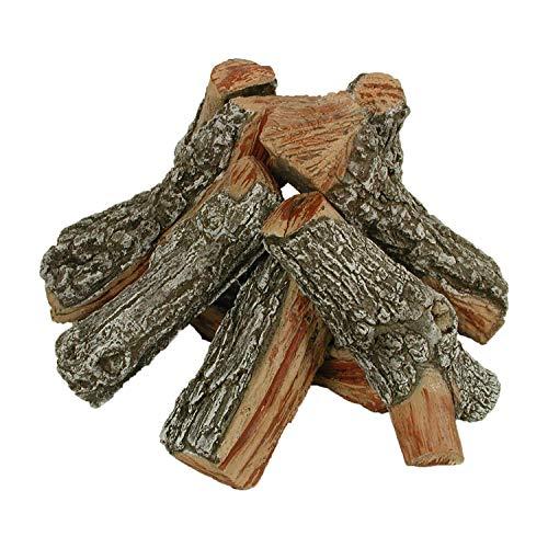 (Rasmussen 12 Inch Bark/Split Fire Pit Logs - Round Stack )
