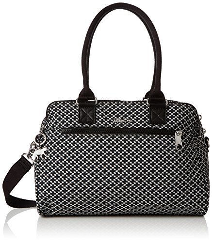 Kipling Sunbeam, Borsette da polso Donna Multicolore (Retro Geo Black)