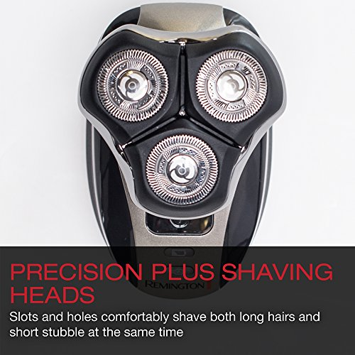 Remington XR1410 Verso Wet & Dry Men's Shaver & Trimmer Grooming Kit, Men's Electric Razor, Facial Cleaning Brush, Beard Trimmer