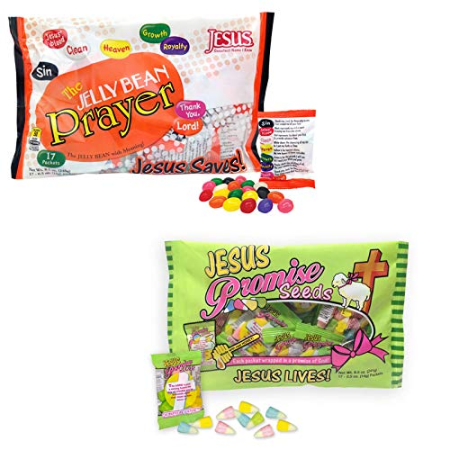 Jesus Promise Seeds and Jelly Bean Prayer -
