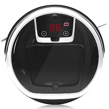 XLUOYI Barrendero Robot Aspirador Hogar Inteligente Ultrafino,Black-31cm*9cm: Amazon.es: Hogar