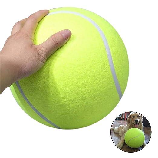 Mallalah - Pelota de Tenis Gigante, Juguete para Masticar al Aire ...