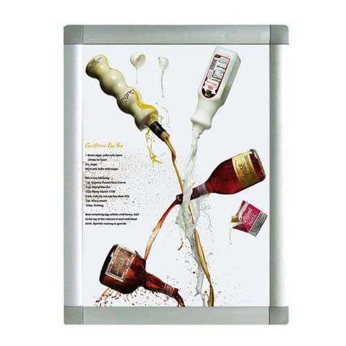 Fantastic Displays Professional Front Load Easy Open Snap Poster ...