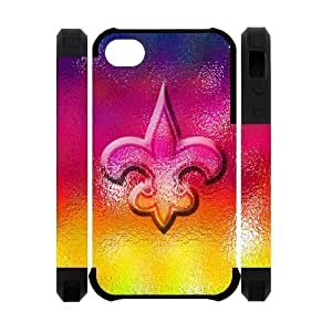 Different Style Custom Personalized Sports NFL New Orleans Saints Silicone Case For Samsung Galaxy S5 Cover Case New Orleans Saints Logo Cover Case For Samsung Galaxy S5 Cover TU543002