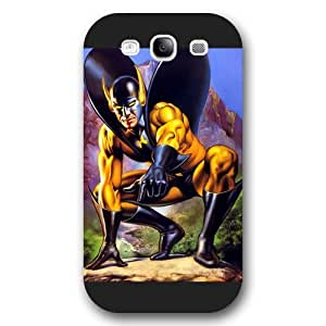 UniqueBox Customized Marvel Series Case for Samsung Galaxy S3, Marvel Comic Hero Ant Man Samsung Galaxy S3 Case, Only Fit for Samsung Galaxy S3 (Black Frosted Case) wangjiang maoyi by lolosakes
