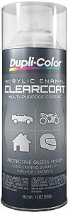 Dupli-Color General Purpose Acrylic Enamel Crystal Clear 12 oz.