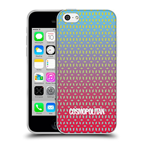 Official Cosmopolitan Ombre 7 Fun Summer Soft Gel Case for Apple iPhone 5c