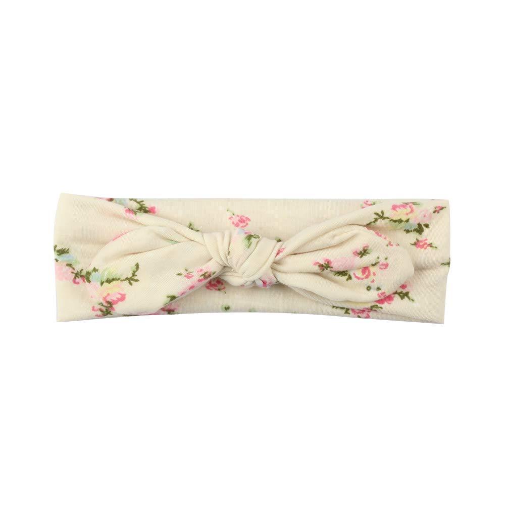 DingLong Baby M/ädchen Stirnb/änder Bowknot Kleine geschredderte Blumen Haarschmuck f/ür M/ädchen S/äuglingshaarband A