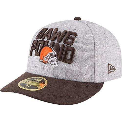 マイクロくしゃみモルヒネニューエラ (New Era) 59フィフティ Low Profile キャップ - NFL ドラフト クリーブランド?ブラウンズ (Cleveland Browns)