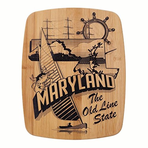 y 14 Inch Maryland Bamboo Cutting Board ()