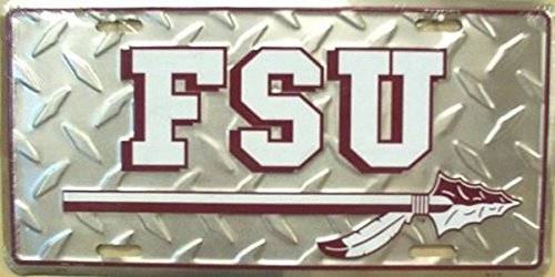 Florida State University Diamond License Plate
