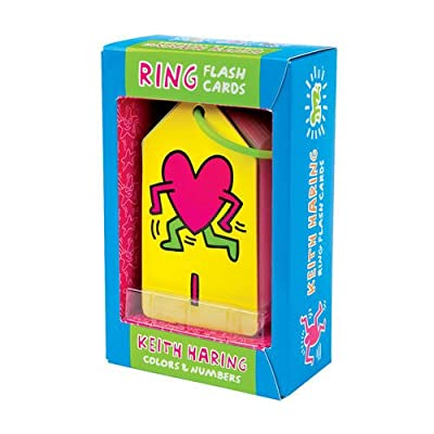 Mudpuppy Keith Haring Colors & Numbers Ring Flash Cards: Mudpuppy: Toys & Games