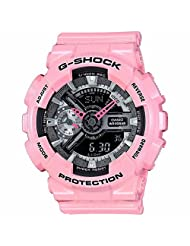 Casio G-Shock GMAS110MP-4A2 S Series Analog Digital Pink Watch
