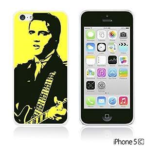 alTM - Celebrity Star Hard Back Case forDiy For Touch 5 Case Cover Elvis Presley with Gultar