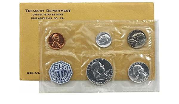 COA 1963 US Proof Set Original Packaging