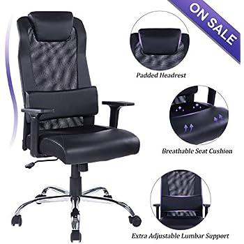 Amazon.com: Elecwish Adjustable Office Executive Swivel ...
