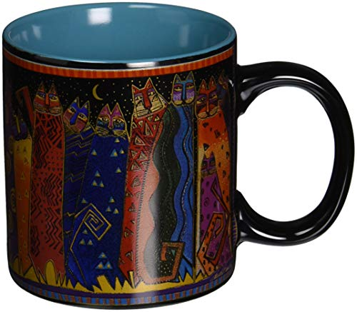 Laurel Burch Artistic Mug Collection, Santa Fe Felines