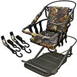 Portable Hunting Tree Stand Climber Deer Bow Game Hunt w/ Step-On Platform